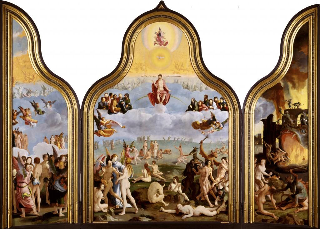 Lucas van Leyden, Het Laatste Oordeel, 1526, Stedelijk Museum De Lakenhal, Leiden.